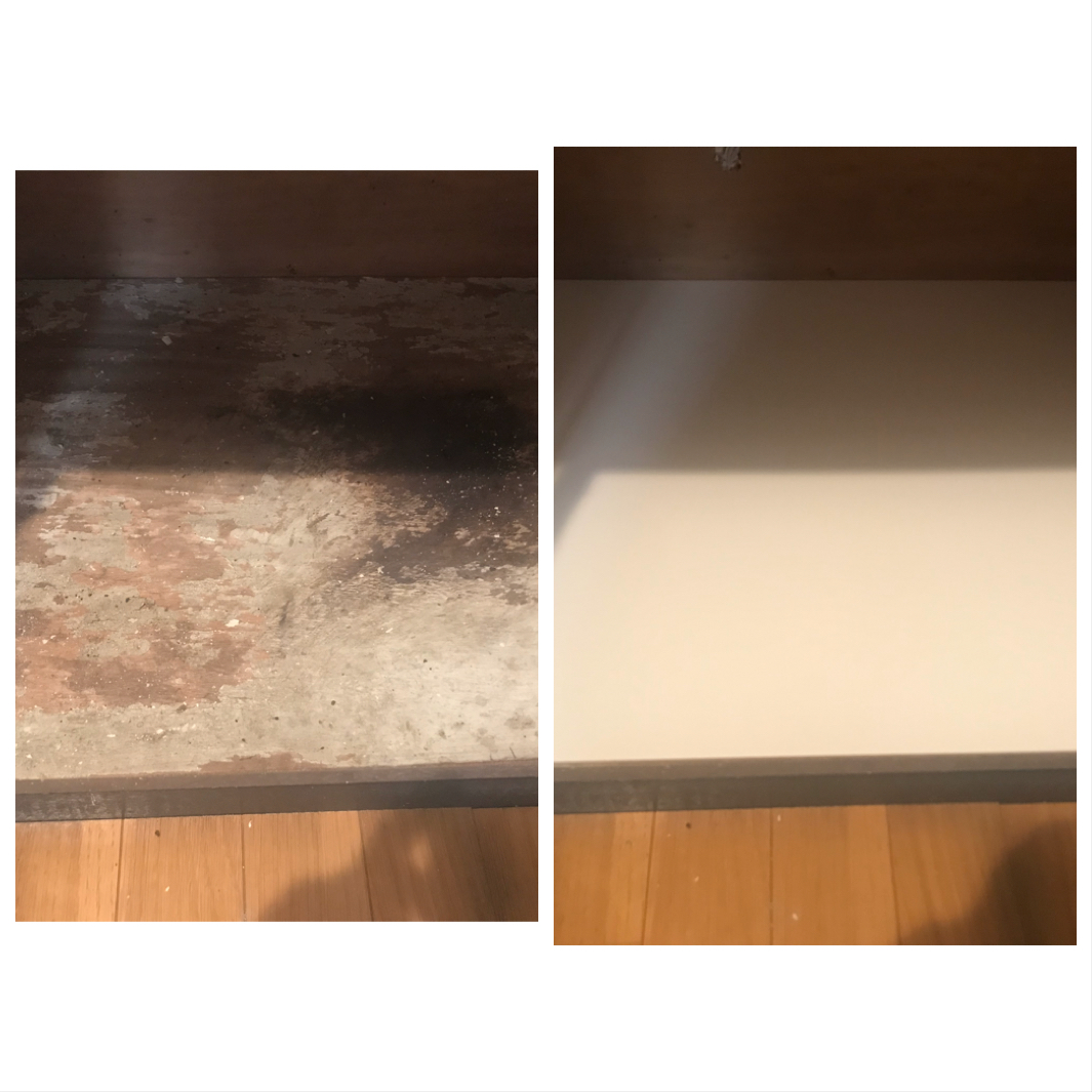 東大和 キッチン ハウスクリーニング 棚補修