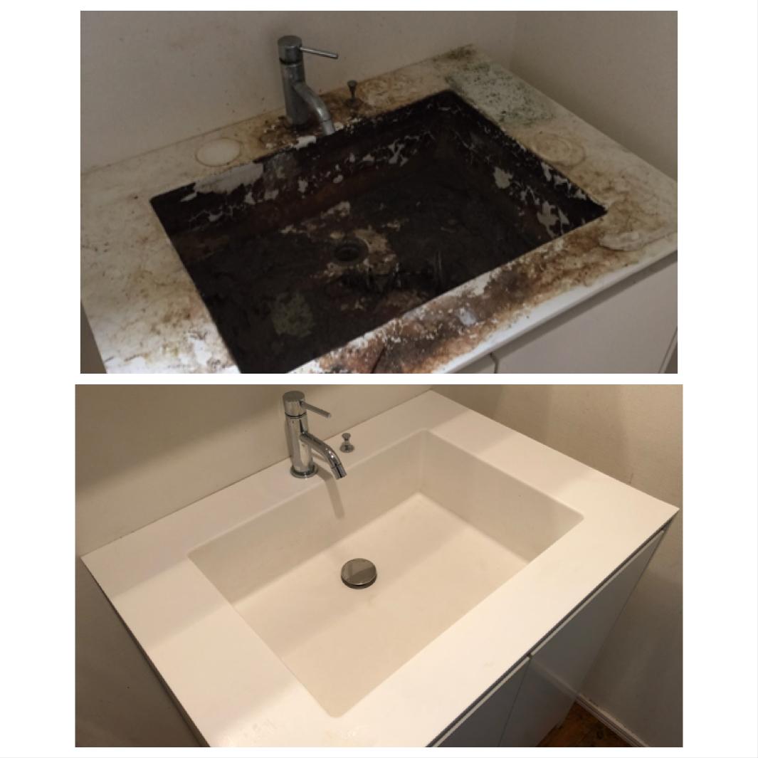 東大和市 在宅 ハウスクリーニング 洗面台清掃